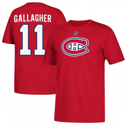 Youth Brendan Gallagher 11 Montreal Canadiens Name and Number T-shirt