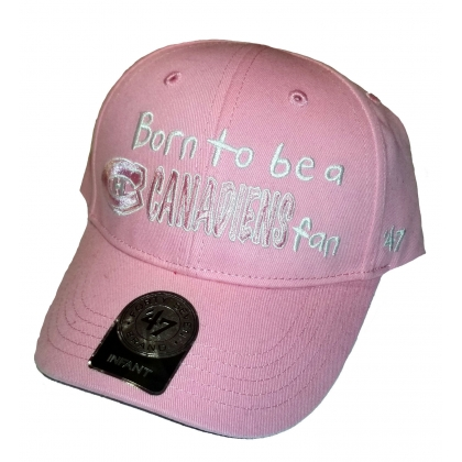Kids 47 Brand Pink Infant Cap Montreal Canadiens