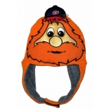 Youppi Fuzzy Knit Hat Montreal Canadie..