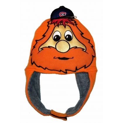 Youppi Fuzzy Knit Hat Montreal Canadiens Old Time Hockey