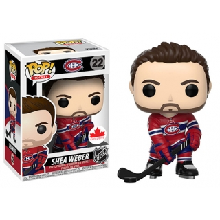 Shea Weber POP NHL figures Red Home Je..