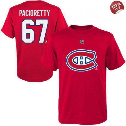 Youth Max Pacioretty 67 Montreal Canadiens Name and Number T-shirt