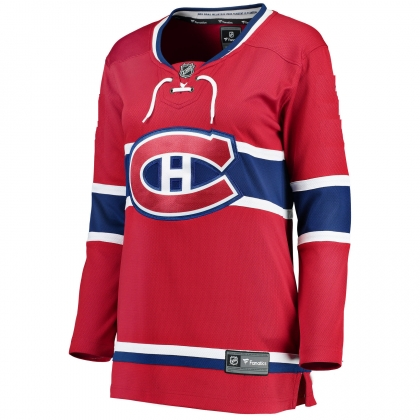 Womens 2017 NHL Montreal Canadiens Fanatics Breakaway Home Jersey