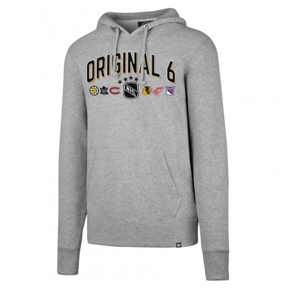 Original 6 NHL Headline Pullover Hoodie by '47 Brand