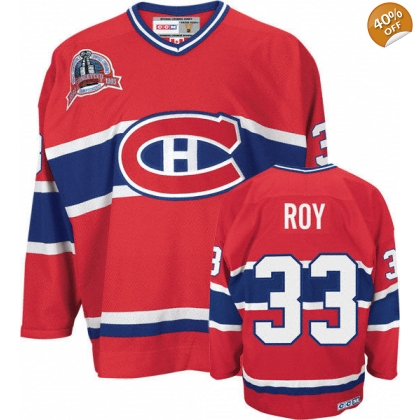 Patrick Roy Montreal Canadiens CCM Classics Heroes of Hockey Jersey