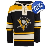 Pittsburgh Penguins Black 47 Brand Lac..