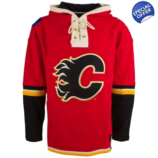 Calgary Flames 47 Brand Lace Up Jersey..
