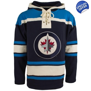 Winnipeg Jets Royal 47 Brand Lace Up J..