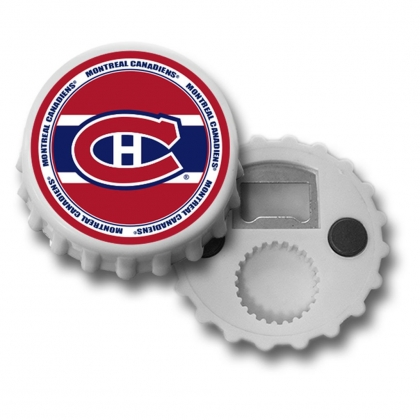 Montreal Canadiens Magnetic Bottle Cap Opener