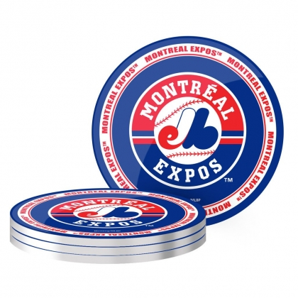 Montreal Expos Coaster Set Set 4 pack