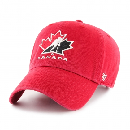 Team Canada Hockey IIHF Red Clean Up Cap 47 Brand