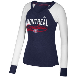 Womens Montreal Canadiens adidas Elbow..