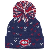 Womens Montreal Canadiens Cuffed Pom K..