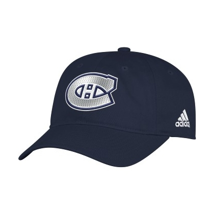 Women's Montreal Canadiens Adidas Adjustable Slouch Hat