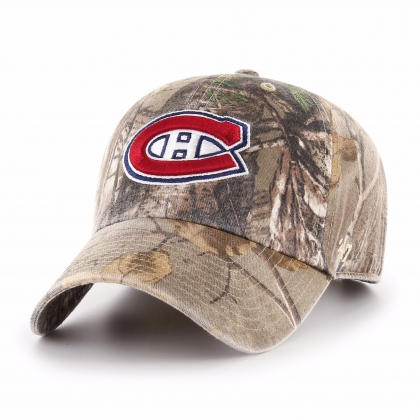 Montreal Canadiens Realtree Clean Up Cap 47 Brand