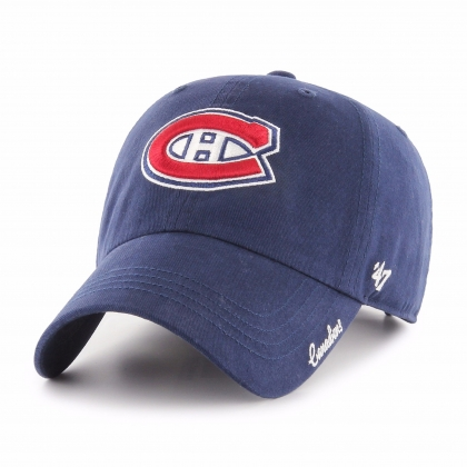 Women's Montreal Canadiens Miata Clean Up Hat 47 Brand
