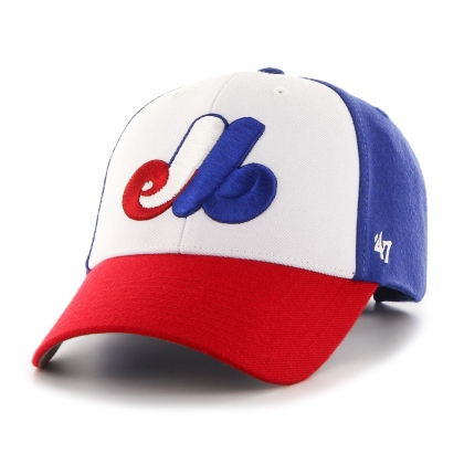 Youth 47 Brand Montreal Expos Cooperstown Heritage Tri Color Hat