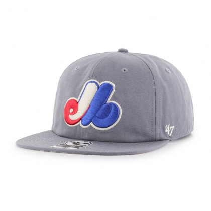 Montreal Expos Montague Captain Sure Shot Snapback Cap 47