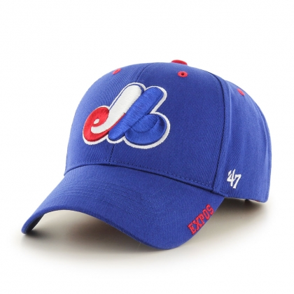 Youth Montreal Expos Heritage Frost MVP Hat 47