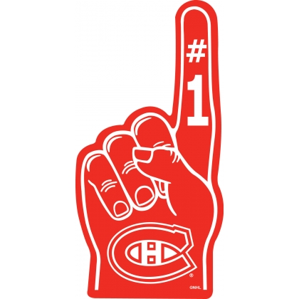 Montreal Canadiens Foam Finger