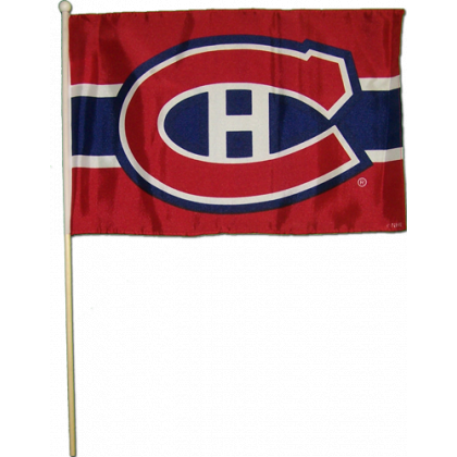 "Montreal Canadiens 12""x18"" Stick Flag"