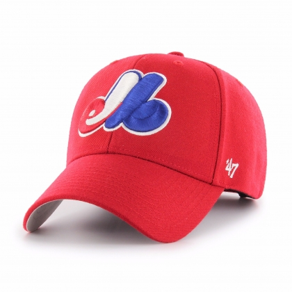 Montreal Expos MLB Red MVP Cap Hat 47 Brand