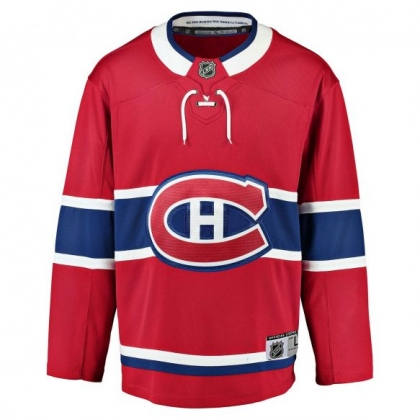 Youth Replica Montreal Canadiens NHL Red Home Jersey