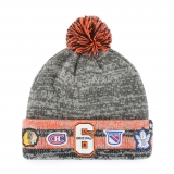 Original 6 Henrick Cuffed Pom Knit Hat..