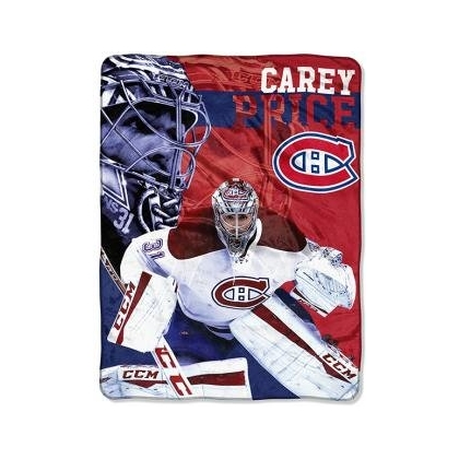 Montreal Canadiens Carey Price Silk Blanket