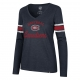 Montreal Canadiens Ladies Stripe C..