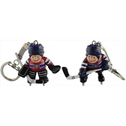 Montreal Canadiens Mini Player or Goalie Keychain