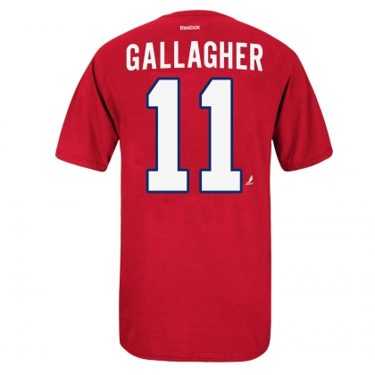 Montreal Canadiens Brendan Gallagher 11 Name and Number T-shirt