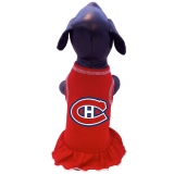 Montreal Canadiens Cheerleader Dog Dress