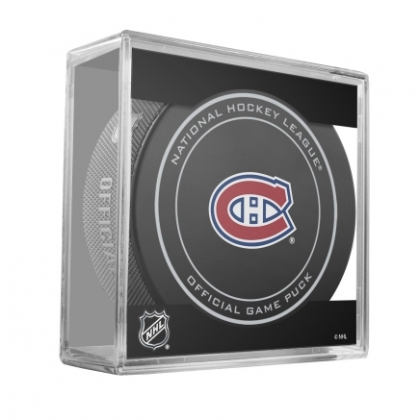 Montreal Canadiens NHL Official Game Puck