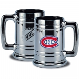 Montreal Canadiens Beer Mug Chrome Stein