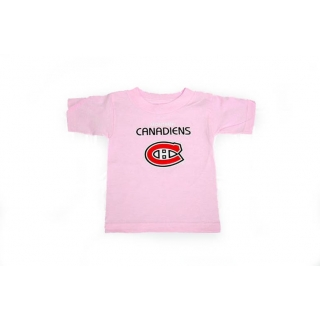 Montreal Canadiens Kids Baby Pink T-sh..