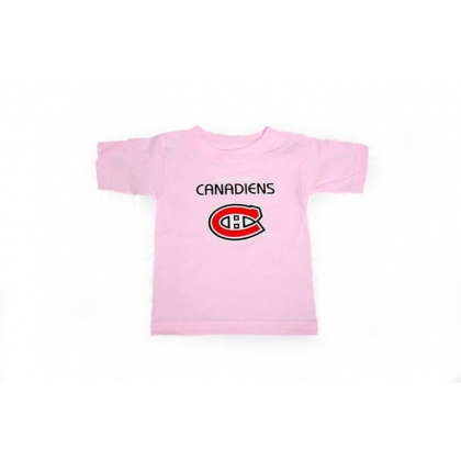 Montreal Canadiens Kids Baby Pink T-shirt