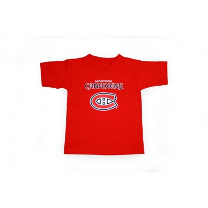 Montreal Canadiens Red Kids Baby T-shirt