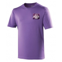 {Adult} Purple T-Shirt - 100% Pol..