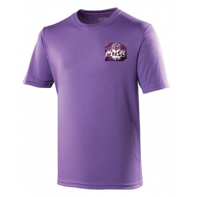 {Junior} Purple T-Shirt - 100% Polyester