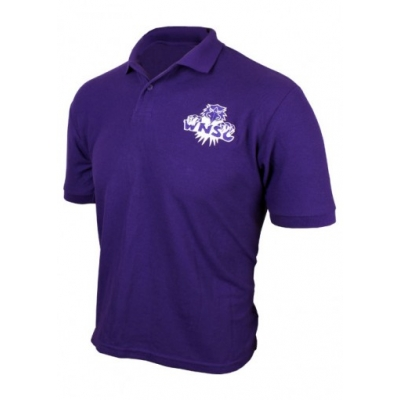 {Adult} Purple Polo - Cotton