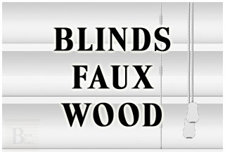 BLINDS FAUX WOOD