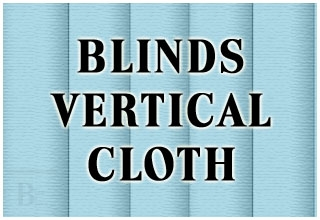 BLINDS VERTICAL CLOTH
