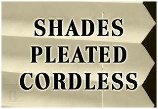 SHADES PLEATED CORDLESS