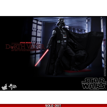 Hot Toys Star Wars: Episode IV A New Hope: 1/6th scale Darth Vader Collectible Figure