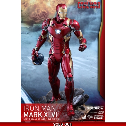 RE: Hot Toys MMS353D16Captain America: Civil War - 1/6th scale Mark XLVI Collectible Figure