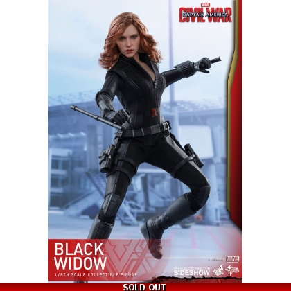 Hot Toys Captain America: Civil War - 1/6th scale Black Widow