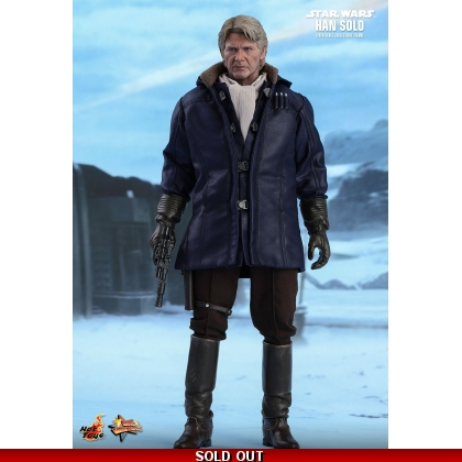 Hot Toys Star Wars: The Force Awakens - 1/6th scale Han Solo Collectible Figure