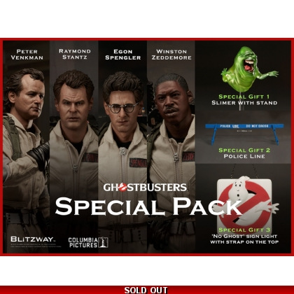 Blitzway '1984' Ghostbusters Special Pack