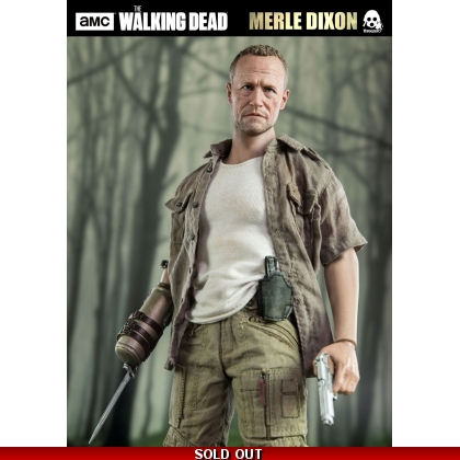 ThreeZero The Walking Dead – Merle Dixon 1/6th Scale Collectible Figure